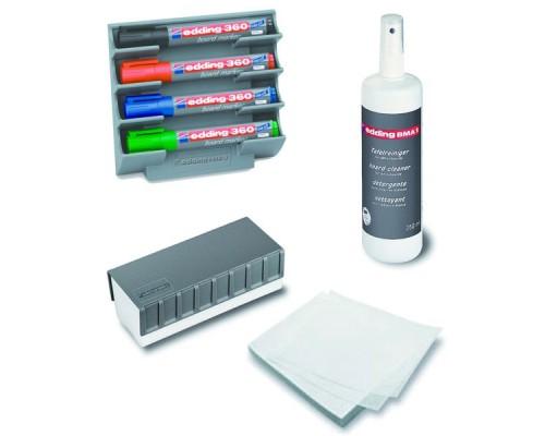 Набор принадлежностей для маркерных досок EDDING E-BM15S, 8 предметов