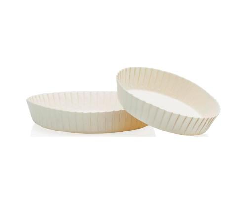 Крышка на стакан белая 60 мм,100шт.