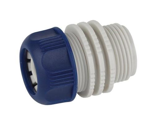 Адаптер для шланга 1/2 с наружной резьбой, пластик GAEA20-11