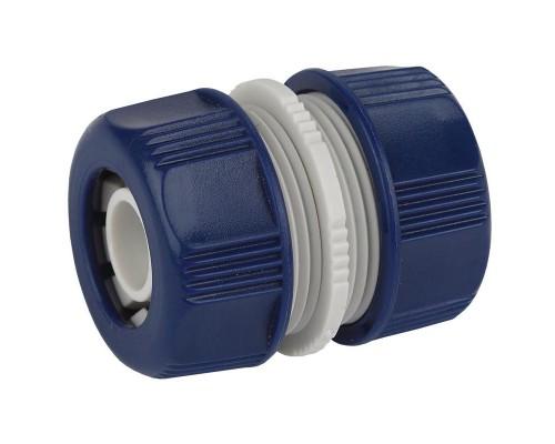 Муфта ремонтная, соединительная для шланга 3/4 пластик GAEM20-09