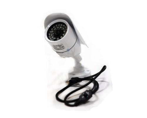 Камера ИНТЭКО СБ HST-613A, цветная, корпусная, 700 ТВЛ (TVL), ИК-подсветка