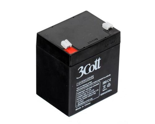 Батарея для ИБП 3Cott (12V/5Ah) аккумуляторная