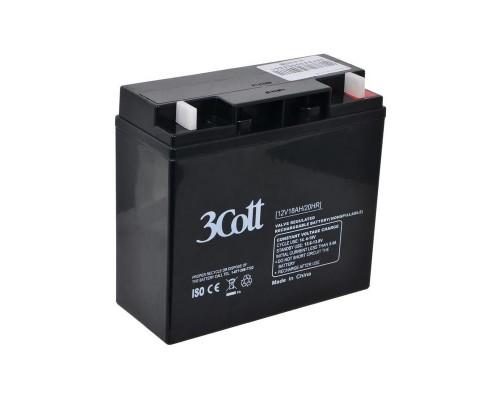 Батарея для ИБП 3Cott (12V/18Ah) аккумуляторная