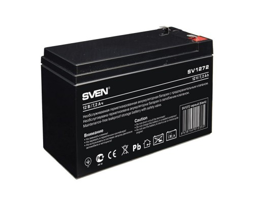 Батарея для ИБП SVEN SV 1272 (12V/7,2Ah) аккумуляторная