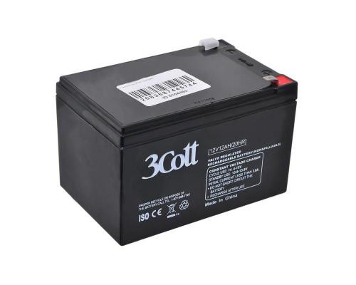 Батарея для ИБП 3Cott (12V/12Ah) аккумуляторная