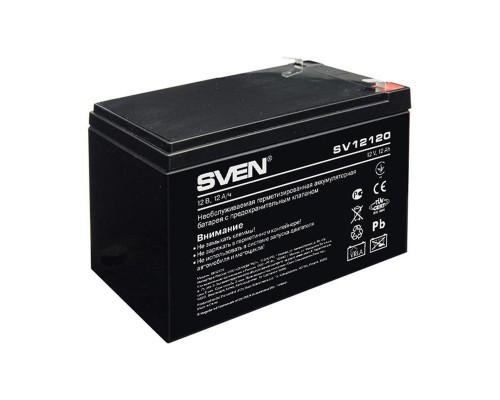 Батарея для ИБП SVEN SV 12120 (12V/12Ah) аккумуляторная