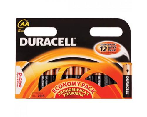 Батарейка AA/316/LR6 DURACELL, алкалин., 12шт.