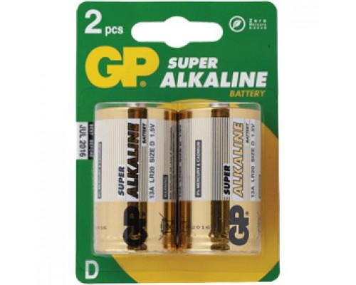 Батарейка D/373/LR20 GP, алкалин., 2шт.
