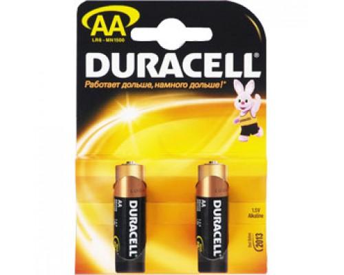 Батарейка AA/316/LR6 DURACELL, алкалин., 2шт.