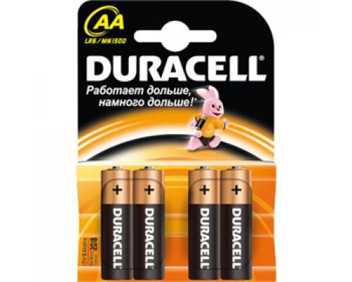Батарейка AA/316/LR6 DURACELL, алкалин., 4шт.