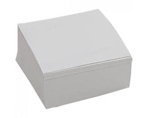 Блок для записей 90х90х45мм проклеенный, белый