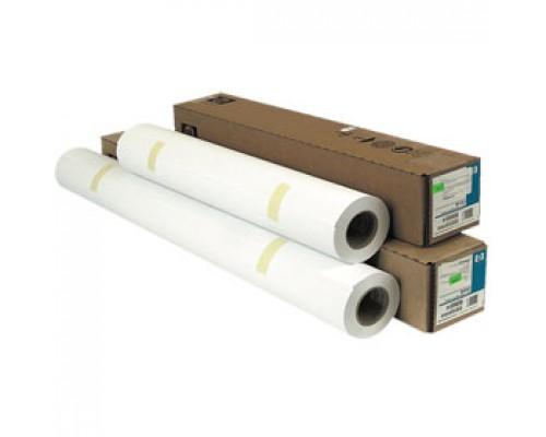 Бумага для плоттера HP Bright White InkJet Paper C6035A 610х45.7м 90г/м2