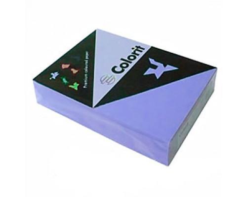 Бумага Colorit А4, 80г/м2, сиреневый, 500л