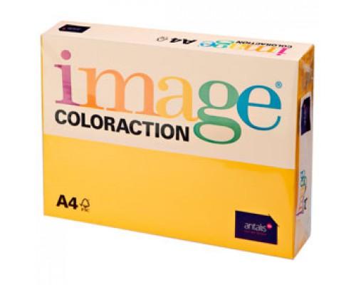 Бумага IMAGE Coloraction intensive А4, 80г/м2, солнечно-желтый, 500л.
