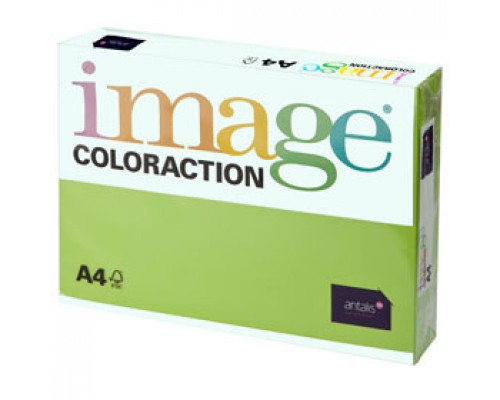 Бумага IMAGE Coloraction intensive А4, 80г/м2, ярко-зеленый, 500л.