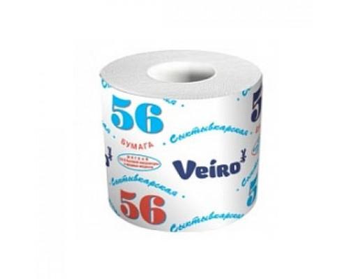 Туалетная бумага VEIRO 56м