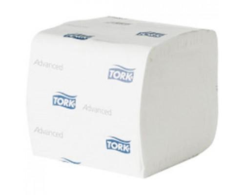 Туалетная бумага TORK Advanced T3 114271 2-сл., ZZ-слож., 242л, белый