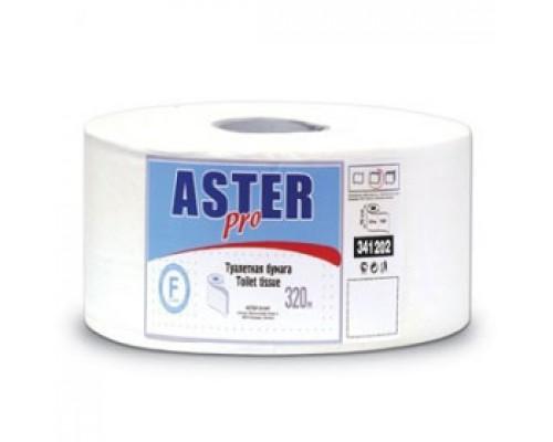 Туалетная бумага ASTER 2-сл, 320м, белый, 6шт
