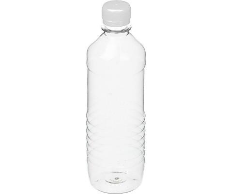 Бутылка пластиковая прозрачная 500 мл диаметр горла 28 мм (100 штук в упаковке)