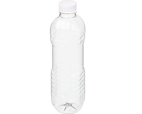 Бутылка пластиковая прозрачная 1000 мл диаметр горла 38 мм (60 штук в упаковке)