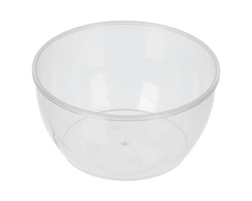 Банка пластиковая прозрачная 360 мл диаметр 112 мм высота 55 мм (400 штук в упаковке)