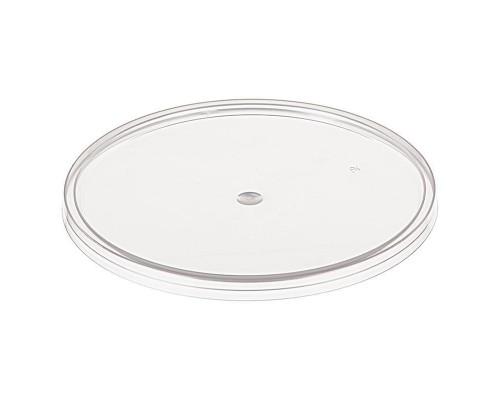 Крышка к ведру пластиковому прозрачная диаметр 131 мм (540 штук в упаковке)