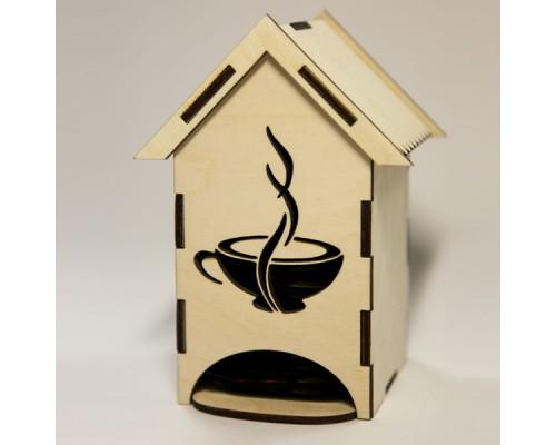 """Чайный домик средний """"Чашка"""" для декупажа"""