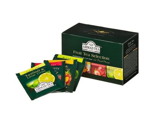 Чай Ahmad Fruit Tea Selection ассорти 20 пакетиков
