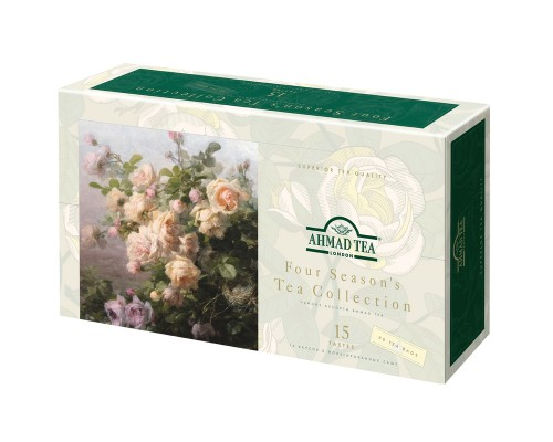 Чай Ahmad Four Season's Tea Collection ассорти 90 пакетиков