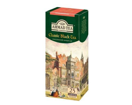 Чай Ahmad Classic черный (2 упаковки по 25 пакетиков)