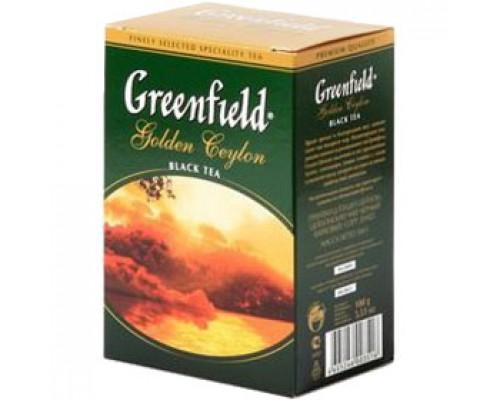 Чай GREENFIELD Golden Ceylon черный, 100 гр.