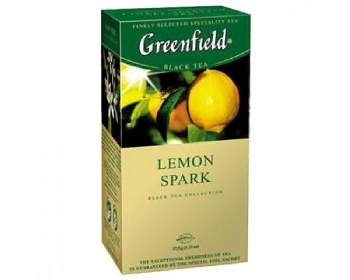 Чай GREENFIELD Lemon Spark черный, 25 пак.