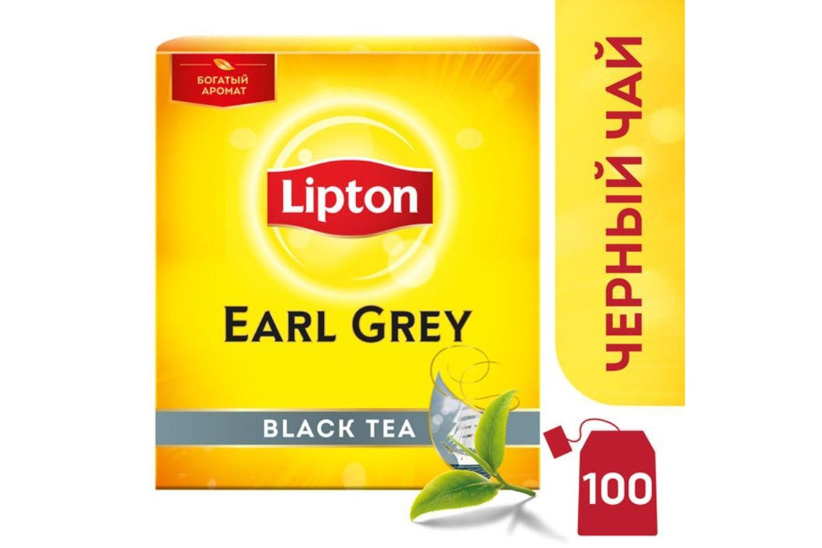 Чай липтон с бергамотом