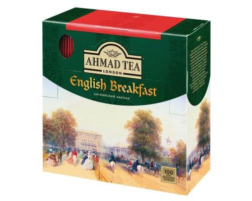 Чай Ahmad Tea English Breakfast черный 100 пакетиков