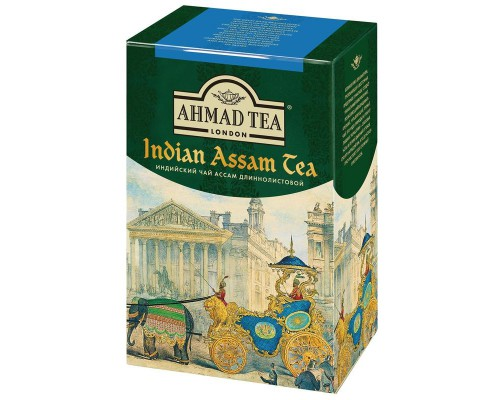 Чай Ahmad Tea Indian Assam tea черный 100 г