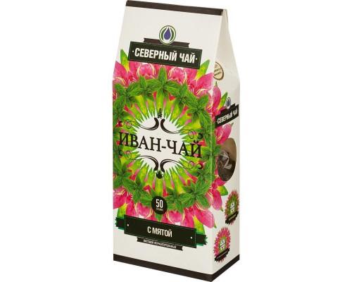 Иван-чай Северный чай травяной с мятой 50 г