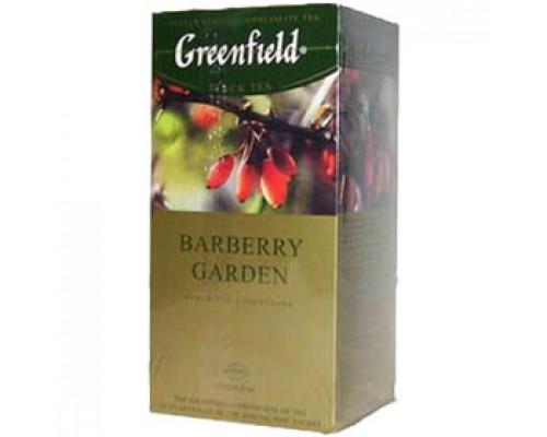 Чай GREENFIELD Baberry Garden черный, 25пак.