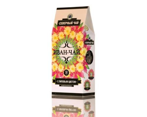 Чай Северный Иван-чай листовой фермент.с липой 50 г/уп