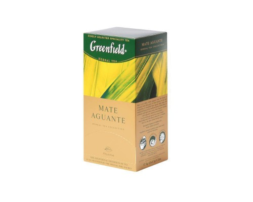 Чай Greenfield Mate Aguante травяной 25 пакетиков
