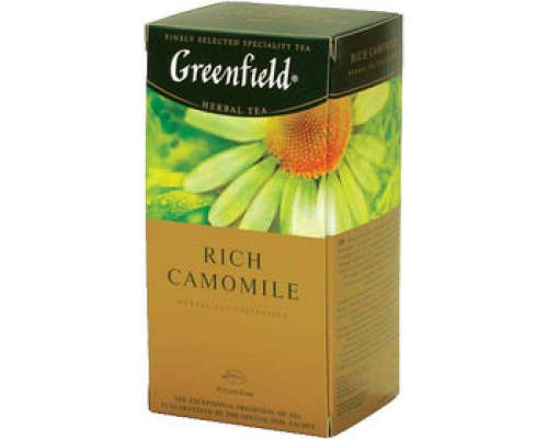 Чай GREENFIELD Rich Camomile ромашковый, 25пак.