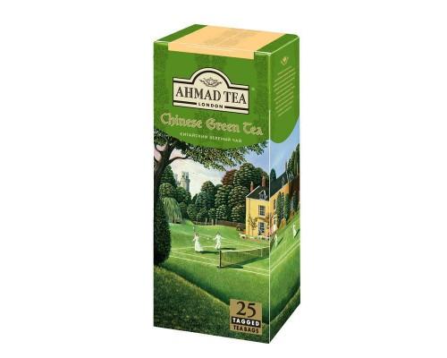 Чай Ahmad Chinese зеленый (2 упаковки по 25 пакетиков)