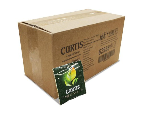 Чай Curtis Original Green Tea зеленый 200 пакетиков