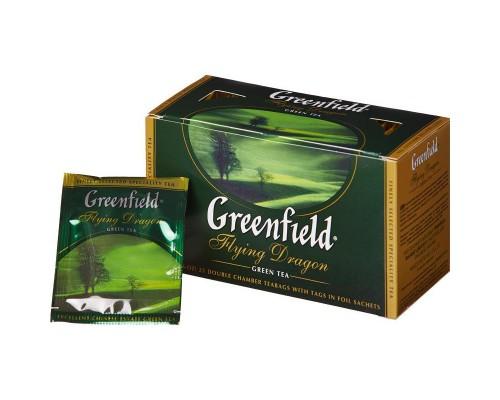 Чай Greenfield Flying Dragon зеленый 25 пакетиков