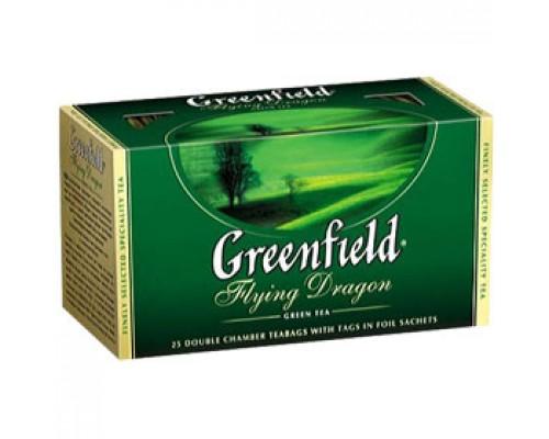 Чай GREENFIELD Flying Dragon зеленый, 25пак.