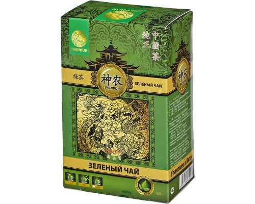 Чай Shennun зеленый 100 г