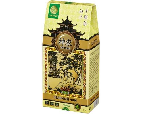 Чай Shennun Мо Ли Мао Фен зеленый с жасмином 100 г