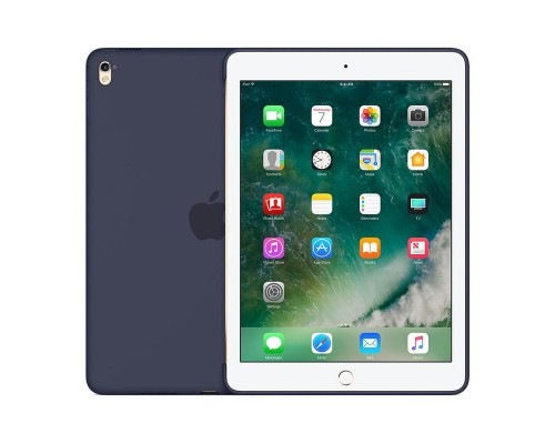 Чехол Apple iPad Pro 9.7 Silicone Case - Midnight Blue (MM212ZM/A)