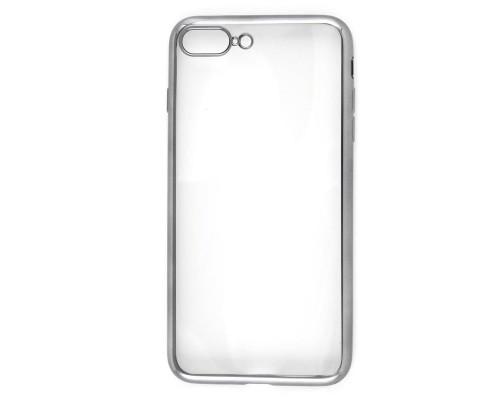Накладка силикон iBox Blaze для iPhone 7 Plus (5.5) (черная рамка)