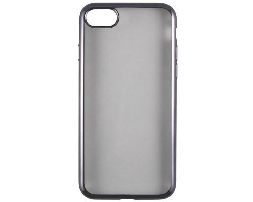 Накладка силикон iBox Blaze для iPhone 6/6S (4.7) (черная рамка)