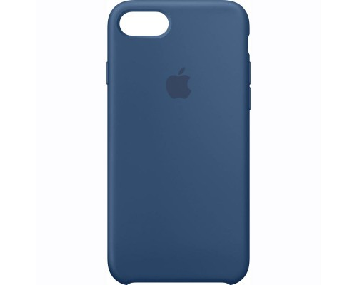 Чехол Apple iPhone 7 Silicone Case - Ocean Blue(MMWW2ZM/A)